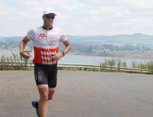 Legendary deaf athlete and Olympic medalist completes 902km