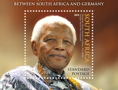 South Africa & Germany issue joint stamps to celebrate Madiba's 100 years